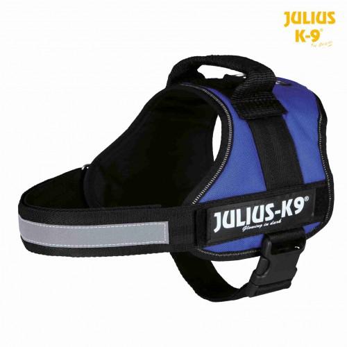 Harnais Julius-K9  82-118cm bleu