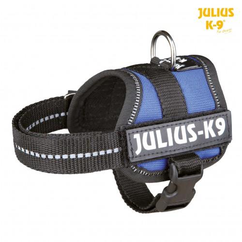 Harnais Julius-K9  58-76cm bleu
