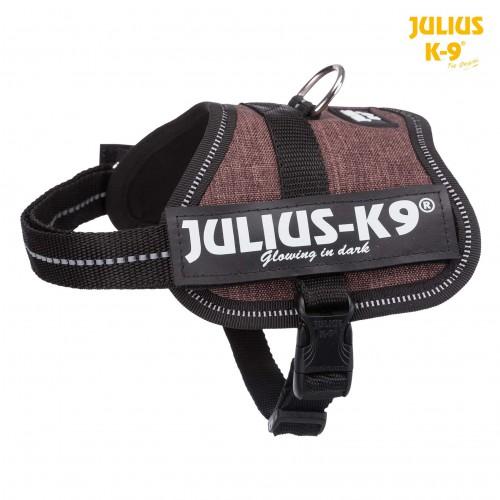 Harnais Julius-K9  66-85cm Moka