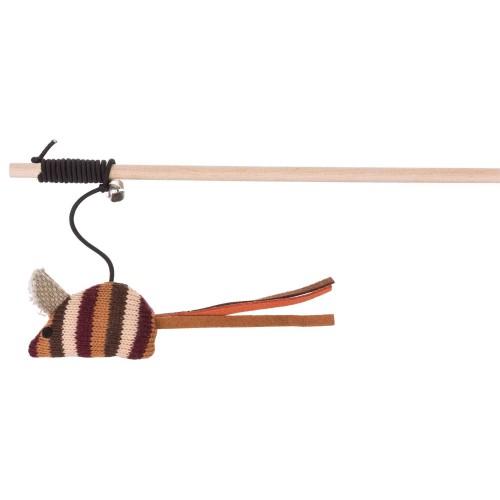 Canne a pêche avec souris 40 cm