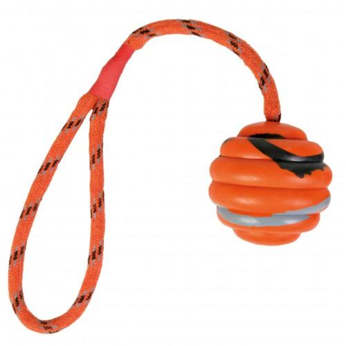 Balle ondulée avec corde 6 x 30 cm