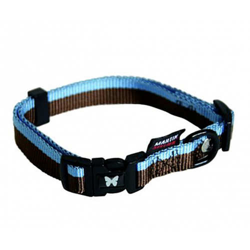Collier Choco/Bleu 10-20/30