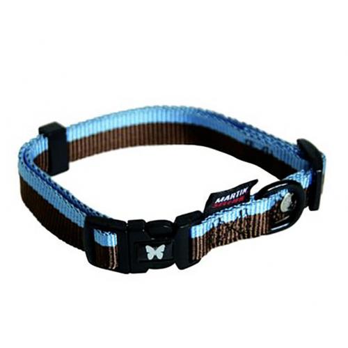 Collier Choco/Bleu 25-45/65