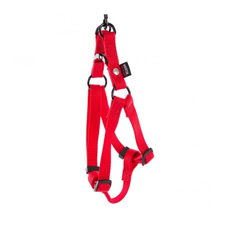 Harnais Nylon rouge 20-50/70