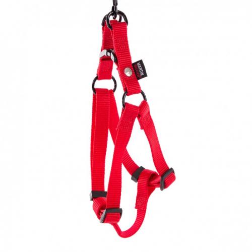 Harnais Nylon rouge 25-70/90
